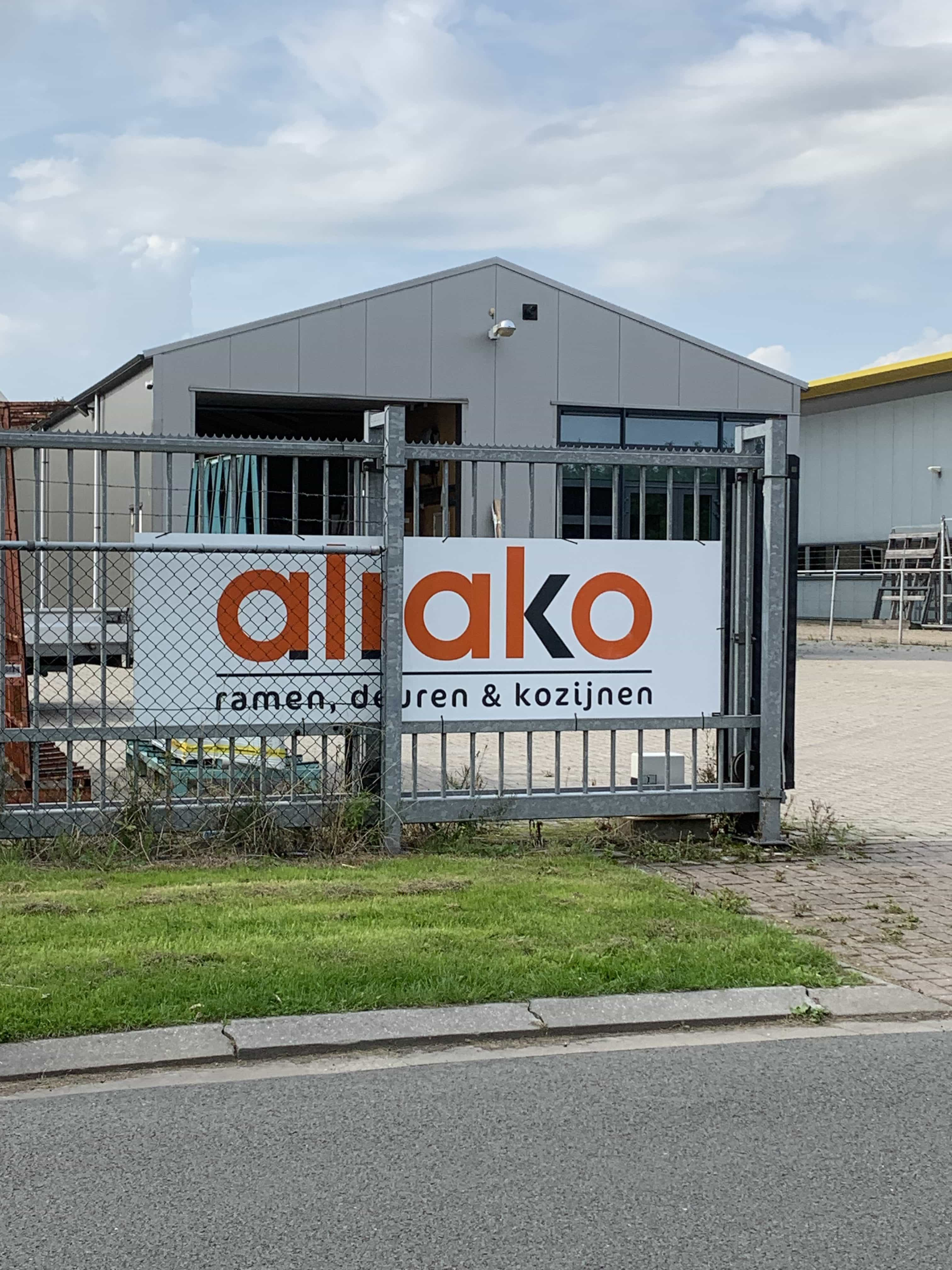 Bedrijfspand Alrako